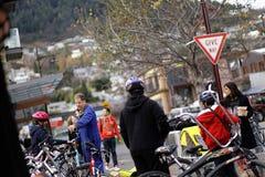 Louez une bicyclette Images libres de droits