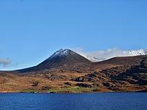 Lough Acoose lake. Under Carrauntoohil, Irelands highest mountain Royalty Free Stock Photo
