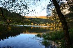 Lough Beagh, lago de água doce no parque nacional de Glenveagh na Irlanda Imagens de Stock