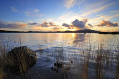 Lough Conn Sunset Stock Photos