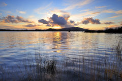 Lough Conn Sunset Royalty Free Stock Photo