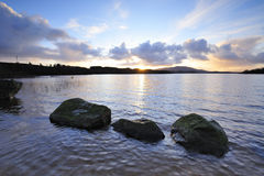 Lough Conn Sunset Royalty Free Stock Images
