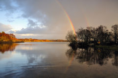 Lough Cullin Stock Image