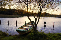 Lough Ennell Dawn Stock Photography
