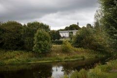 Lough Erne, Koningin Elizabeth 2 Weg, Enniskillen, Co Fermanagh, royalty-vrije stock afbeeldingen