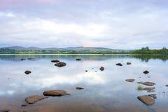 Lough Eske royaltyfria foton