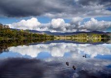 Lough Eske, Co Donegal Irland fotografering för bildbyråer