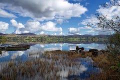 Lough Eske, Co Donegal Irland arkivfoto