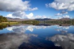 Lough Eske, Co Donegal Irland arkivfoton