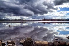 Lough Eske, Co Donegal Irland royaltyfri fotografi