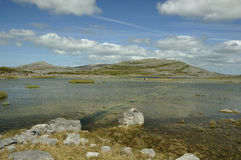 Lough Gealain u. Mullaghmore Lizenzfreie Stockfotos