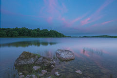 Lough Gur 19-06-2017. Lough Gur Irish: Loch Gair is a lake in County Limerick, Ireland between the towns of Herbertstown and Bruff. The lake forms a horseshoe Royalty Free Stock Photos