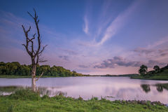 Lough Gur 19-06-2017. Lough Gur Irish: Loch Gair is a lake in County Limerick, Ireland between the towns of Herbertstown and Bruff. The lake forms a horseshoe Royalty Free Stock Image