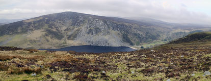 lough jeziorne góry tay Wicklow Zdjęcie Royalty Free