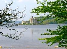 Lough Key. Ancient castle built on an island on Lough Key, Co.Roscommon, Ireland Stock Photos