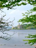 Lough Key. Ancient castle built on an island on Lough Key, Co.Roscommon, Ireland Royalty Free Stock Image