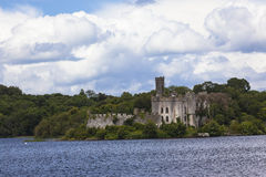 Lough Lake Island Castle  Royalty Free Stock Images