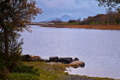 Lough Lannagh Imagens de Stock