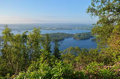 Lough Leane Lake. And Killarney Town in behind Stock Photos