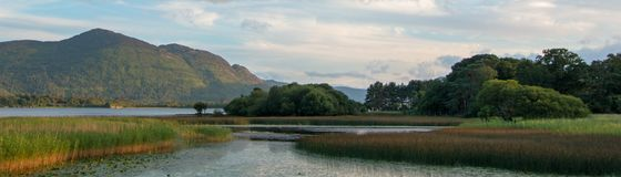 Lough Leane - Lake Leane - on the Ring of Kerry at Killarney Ireland Ire. Lough Leane - Lake Leane - on the Ring of Kerry at Killarney Ireland royalty free stock photo