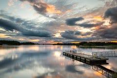 Lough leane royalty-vrije stock afbeeldingen