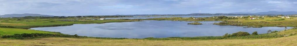 Lough Neagh vicino all'isola di Derrywarragh, contea Armagh, Irlanda del Nord, fotografia stock