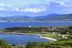 Lough Swilly plaża Obrazy Royalty Free