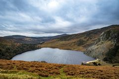 Lough Tay, Glendalough, Wicklow, Ierland 3 Royalty-vrije Stock Foto