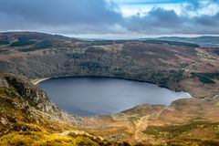 Lough Tay, Glendalough, Wicklow, Ireland 2 royalty free stock photography