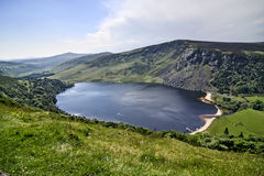 Lough Tay Lake Stock Photo