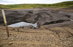 Loughareema, der See, der nach dem Zufall verschwindet, Grafschaft Antrim, Nordirland Lizenzfreie Stockbilder
