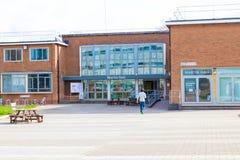Loughborough/het UK - 03 03 19: De Gebouwencampus het Verenigd Koninkrijk van de Loughborough Universitaire Sport royalty-vrije stock afbeelding
