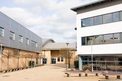 Loughborough/Reino Unido - 03 03 19: Campus Reino Unido de los edificios del deporte de la universidad de Loughborough imagen de archivo