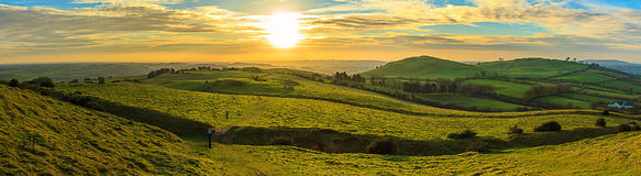 Loughcrew wzgórze Zdjęcie Stock