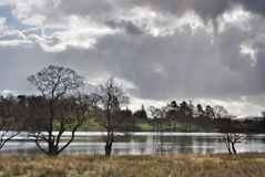 Loughrigg de Tarn Stock Foto