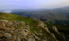 Loughrigg from Nab Scar Stock Image