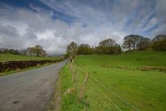 Loughrigg Tarn e próximo Foto de Stock