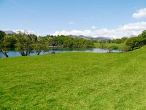 Loughrigg Tarn Royalty Free Stock Image