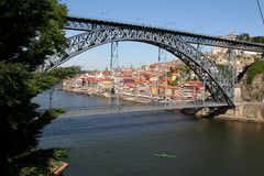 Louis 1 Bridge, Porto. Stock Images