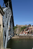 Louis 1 Bridge, Porto. Royalty Free Stock Images
