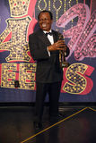 Louis Armstrong royaltyfri fotografi