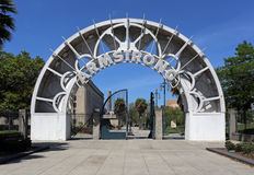 Louis Armstrong Park image stock