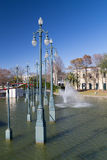 Louis Armstrong Park in New Orleans,  Louisiana Stock Images