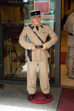 Louis de Funes w Grevin muzeum wosk postacie w Praga Zdjęcie Royalty Free