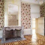 Louis di lusso XVI ha designato l'interiore Immagini Stock Libere da Diritti