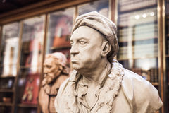 Louis-Francois. Sculpture of The Enlightenment Gallery British museum Royalty Free Stock Photo