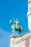 Louis IX Statue Stock Images