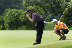 Louis Oosthuizen of South Africa, the Champions Stock Photo