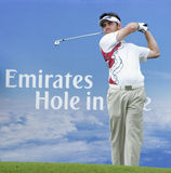 Louis Oosthuizen of South Africa, the Champions Royalty Free Stock Photo