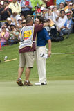 Louis Oosthuizen of South Africa, the Champions Royalty Free Stock Images